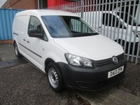 2013 VOLKSWAGEN CADDY MAXI C20 1.6 TDi 102PS LWB *ONE OWNER*ONLY 43k* £8495.00