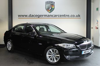 2011 BMW 5 SERIES 2.0 520D SE 4DR 181 BHP £15470.00