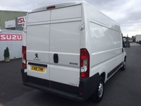 USED 2016 PEUGEOT BOXER PROFESSIONAL 335 L3H2 13130PSi