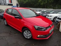 USED 2015 15 VOLKSWAGEN POLO 1.0 S AC 5d 60 BHP NATIONALLY PRICE CHECKED DAILY