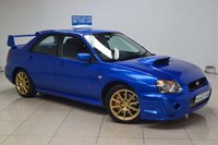 USED 2006 06 SUBARU IMPREZA 2.0 WRX STI TYPE UK 4d 265 BHP