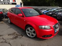 USED 2007 07 AUDI A3 2.0 TDI S LINE 5d AUTO 138 BHP NATIONALLY PRICE CHECKED DAILY
