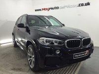 2016 BMW X5 3.0 XDRIVE30D M SPORT 5d AUTO 255 BHP £49995.00