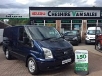 2013 FORD TRANSIT 2.2 260 LIMITED 125 BHP LOW MILES INK BLUE £11995.00