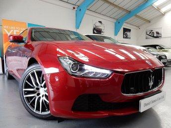 2014 MASERATI GHIBLI 3.0 DV6 4d AUTO 275 BHP £30990.00