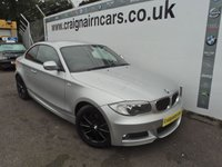 2011 BMW 1 SERIES 2.0 120D M SPORT 2d 175 BHP £11995.00