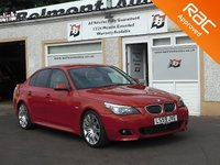 USED 2009 59 BMW 5 SERIES 3.0 530D M SPORT BUSINESS EDITION 4d 232 BHP Full Leather , Bluetooth,  SatNav
