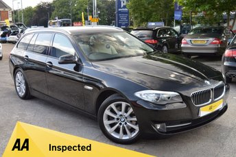 2012 BMW 5 SERIES 2.0 520D SE TOURING 5d AUTO 180 BHP £14222.00