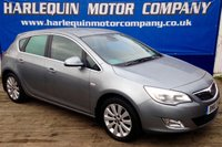 USED 2010 10 VAUXHALL ASTRA 1.6 SE 5d 113 BHP LOW MILES 1/2 LEATHER
