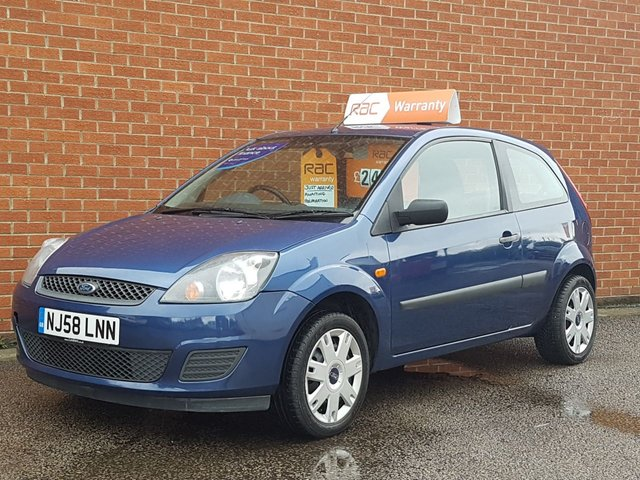 2008 58 FORD FIESTA 1.2 STYLE 16V Choice of 3