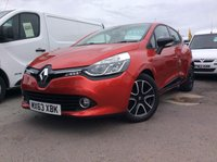 2013 RENAULT CLIO 0.9 DYNAMIQUE MEDIANAV ENERGY TCE S/S 5d, Low Insurance, Great Economy, Low road tax £SOLD