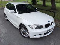 2008 BMW 1 SERIES 2.0 118D M SPORT 3d 141 BHP £SOLD