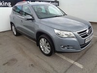 USED 2008 58 VOLKSWAGEN TIGUAN 2.0 SPORT TDI 5d 138 BHP *140 BRAKE HORSE POWER * 42 M-P-G**NEW MOT AND NEXT SERVICE SUPPLIED BY US ON PURCHASE**