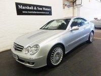 2007 MERCEDES-BENZ CLK 2.1 CLK220 CDI AVANTGARDE 2d AUTO 148 BHP  £6000.00