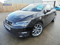 USED 2013 SEAT LEON 2.0 TDI FR 3d 150 BHP Timing Belt Just Done, Excellent History, No Deposit Finance Available, Part Ex Welcomed