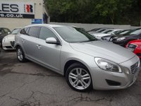 USED 2012 62 VOLVO V60 1.6 D2 SE LUX 5d 113 BHP NATIONALLY PRICE CHECKED DAILY