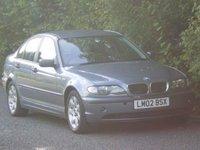 2002 BMW 3 SERIES 2.0 320D SE 4d 148 BHP £SOLD