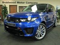 2015 LAND ROVER RANGE ROVER SPORT 5.0 SVR 5d AUTO 550 BHP £94000.00