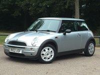2002 MINI HATCH ONE 1.6 ONE 3d 89 BHP £12495.00