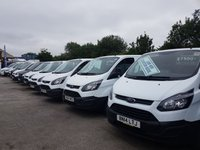USED 2014 FORD TRANSIT CUSTOM LOTS MORE IN STOCK FROM £6995 + VAT OVER 100 NEW & USED  ( BIG STOCK ALL ON ONE SITE WWW.JSVANS.CO.UK )