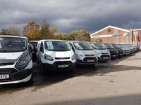 USED 2014 FORD TRANSIT CUSTOM LOTS MORE IN STOCK FROM £6500 + VAT OVER 100 NEW & USED  ( BIG STOCK ALL ON ONE SITE WWW.JSVANS.CO.UK )