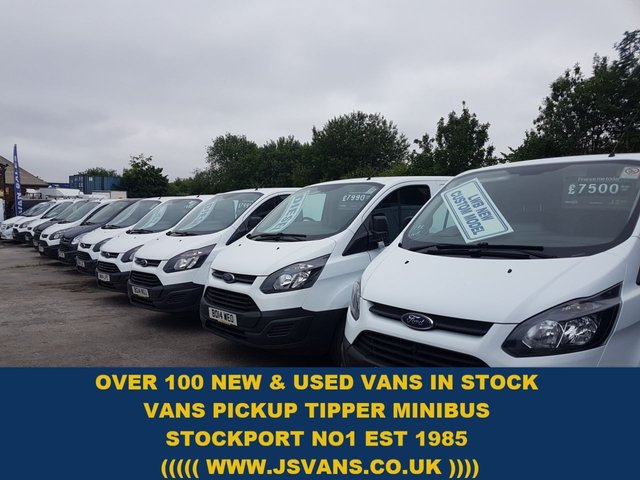 Ford Transit Custom Lots More In Stock From £6500 + Vat Over