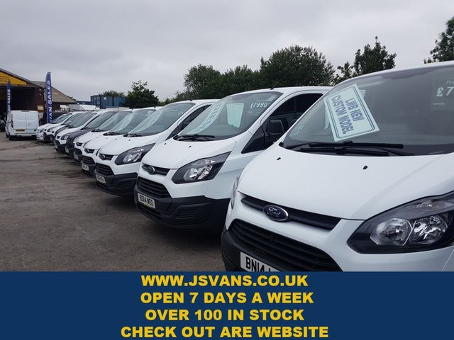 USED 2014 FORD TRANSIT CUSTOM LOTS MORE IN STOCK FROM £7995 + VAT OVER 100 NEW & USED  ( BIG STOCK ALL ON ONE SITE WWW.JSVANS.CO.UK )