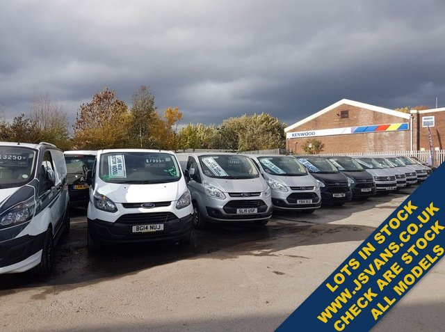 USED 2016 15 FORD TRANSIT CUSTOM LOTS MORE IN STOCK  OVER  USED VANS  CALL OR CHECK STOCK ON WWW.JSVANS.CO.UK