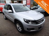 2012 VOLKSWAGEN TIGUAN SE TDi Bluemotion Technology 4motion £9000.00