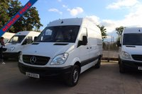 USED 2013 13 MERCEDES-BENZ SPRINTER 2.1 313 CDI MWB 1d 129 BHP MERCEDES SPRINTER 13 PLATE PANEL VAN  WHITE  THIS VEHICLE HAS ONLY DONE 119662 MILES AND DRIVES SUPERBLY  6 SPEED MANUAL GEARBOX