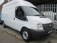 2013 FORD TRANSIT 350 LWB High roof 125PS RWD *ONE OWNER*41000 MILES* £9995.00