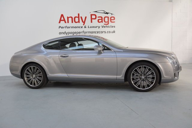 2008 08 BENTLEY CONTINENTAL 6.0 GT SPEED 2d AUTO 603 BHP