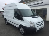 2012 FORD TRANSIT T350 TREND 2.2 TDCi 125 6-Speed MWB High Roof £8995.00