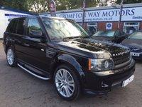 2011 LAND ROVER RANGE ROVER SPORT 3.0 TDV6 HSE 5d AUTO 245 BHP £18495.00