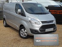 2016 FORD TRANSIT CUSTOM 2.2 290 LIMITED LOW ROOF P/V 5d 125 BHP £15990.00