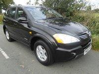2006 SSANGYONG KYRON 2.0 SE 4WD 5d 140 BHP £3295.00