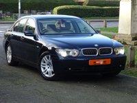 USED 2003 03 BMW 7 SERIES BMW 7 SERIES 3.0 730d SE 4dr LOW MILES SAT NAV ABSOLUTE GEM