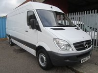 2008 MERCEDES-BENZ SPRINTER 311 CDi LWB High roof 4 metre load length *ONLY 58000 MILES* £SOLD