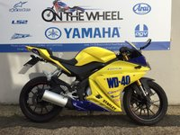 USED 2015 15 YAMAHA YZF-R125 WD40 REPLICA, ABS MODEL, RIDE AWAY TODAY!