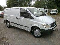 2004 MERCEDES-BENZ VITO 111CDI LWB 6DR 110 BHP £3295.00