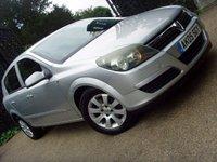 2005 VAUXHALL ASTRA 1.6 CLUB 16V TWINPORT 5d 100 BHP £999.00