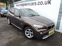 USED 2010 60 BMW X1 2.0 XDRIVE20D SE 5d AUTO 174 BHP One Owner Full BMW Dealer History