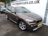 2010 BMW X1 2.0 XDRIVE20D SE 5d AUTO 174 BHP £11995.00