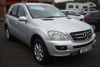 2006 MERCEDES-BENZ M CLASS 3.0 ML280 CDI SE 5d AUTO 188 BHP £7950.00