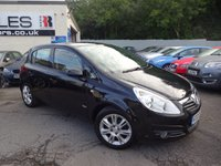 USED 2009 09 VAUXHALL CORSA 1.4 DESIGN 16V 5d 90 BHP NATIONALLY PRICE CHECKED DAILY