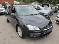 2005 FORD FOCUS 1.6 GHIA 16V 5d 116 BHP Low Miles Great Spec and Colour £1999.00