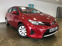 USED 2013 63 TOYOTA AURIS 1.3 ACTIVE DUAL VVT-I 5d 98 BHP