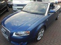 2007 AUDI A4 2.0 TDI SPORT 2d 141 BHP £5490.00