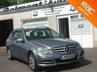 USED 2012 62 MERCEDES-BENZ C CLASS 2.1 C220 CDI BLUEEFFICIENCY EXECUTIVE SE ESTATE 168 BHP 1 Owner -Dealer History