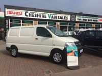2011 TOYOTA HI-ACE 2.5 280 SWB D-4D 95 1d 94 BHP 1 OWNER FROM NEW FSH AIR CON  £10995.00